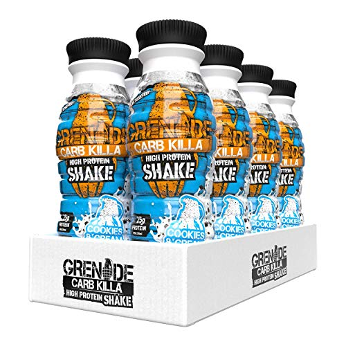 Grenade Carb Killa Cookies and Cream Protein Shake - 8 x 330 ml