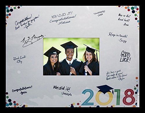 Class of 2018 Signature Mat with Lightweight 11x14 inch Photo Frame (Black)