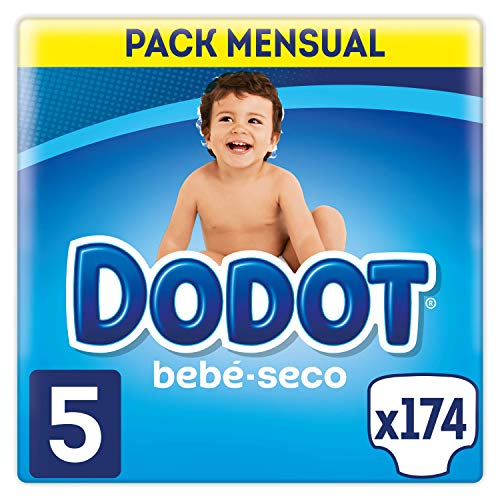Dodot Bebé-Seco - Pañales, con canales de aire, 11-16 kg, Talla...