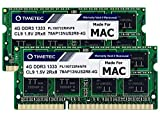 Timetec 8GB KIT(2x4GB) Compatible for Apple DDR3 1333MHz PC3-10600 for Mac Book Pro (Early/Late 2011 13/15/17 inch), iMac (Mid 2010, Mid/Late 2011 21.5/27 inch), Mac Mini(Mid 2011) RAM Upgrade