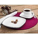 Seltmann Weiden 001.750860 Lido Black Line Kaffeeservice 18-teilig 10826 - 2