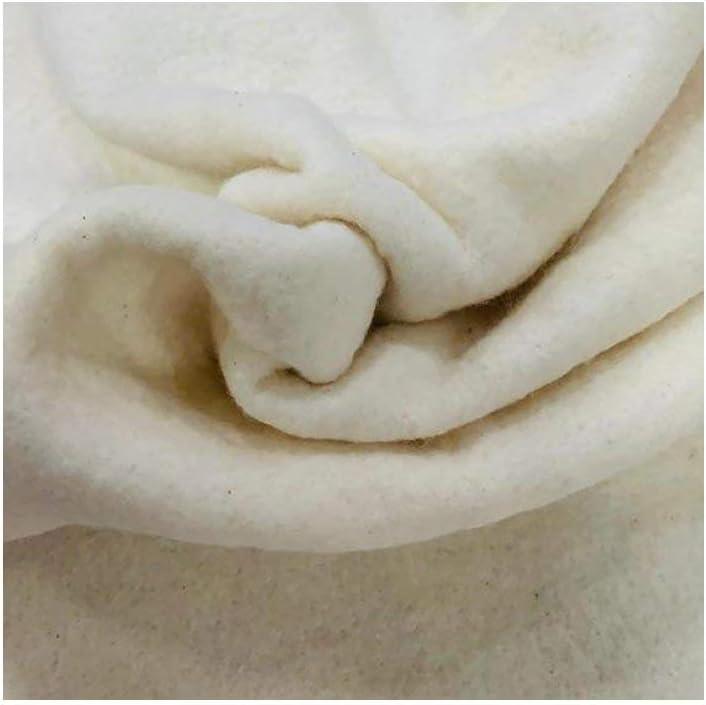 ECOSTURA® Guata para Patchwork, 100% algodón, 280 cm Ancho, Largo a elección de 100 en 100 cm, Color Natural