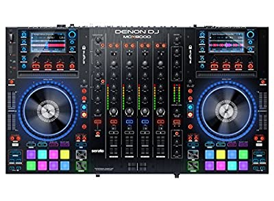 Denon DJ MCX8000 | Standalone DJ Player and Serato 4-Channel DJ Controller) by inMusic Brands Inc.