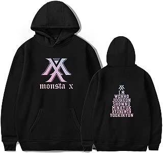 Kpop Monsta X Hoodie Jacket Wonho Jooheon Shownu Minhyuk Hyungwon Yookihyun I.M Sweatshirt Sweater
