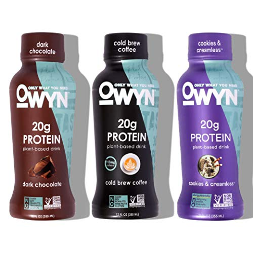 100% Plant-Based Protein Shakes