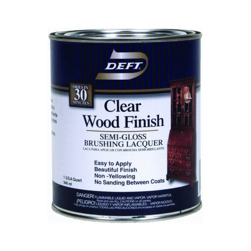 DEFT Clear Wood Finish Lacquer