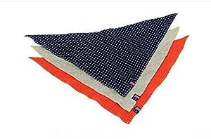 Entièrement 3/set pour chien chat Puppy Bandana bavoirs Triangle tête écharpe foulard collier accessoires (couleur aléatoire)