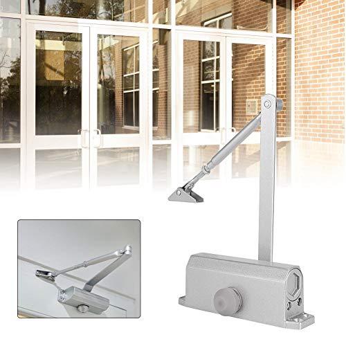 40-60KG 60-100CM Heavy Duty deurdranger Aluminium automatisch deursluitmechanisme Verstelbare sluithoek Veer Hydraulisch Brandpreventie Deurdranger voor thuis/commercieel gebruik