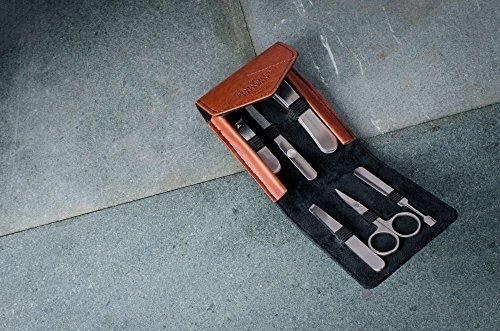 Gentlemen 's Hardware Herren anthrazit Maniküre-Set–Schwarz - 3