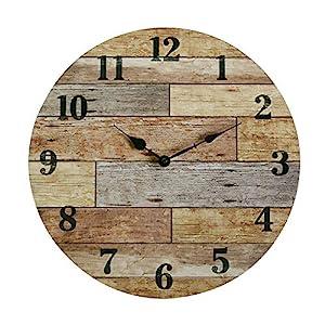 515F9SoSSIL._SS300_ Coastal Wall Clocks & Beach Wall Clocks