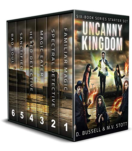 Six Book Series Starter Set the Uncanny Kingdom by D. Bussell and M.V. Stott