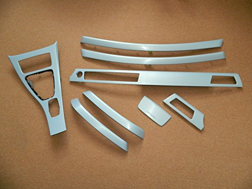 Dekorleisten Interieurleisten BMW E90 E91 Alu 3D Struktur Folien Set