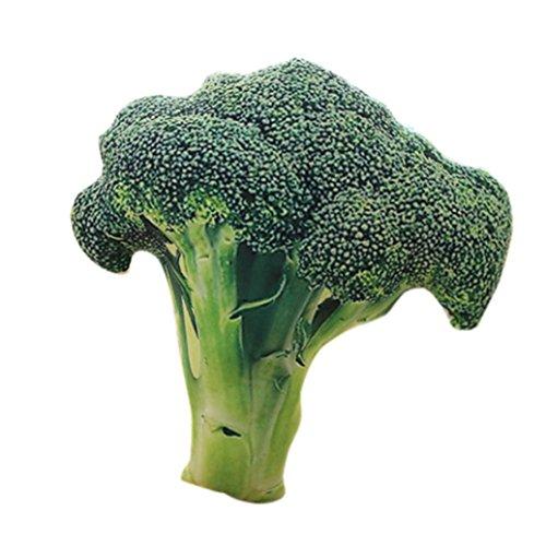 erthome 3d Creative Simulation Légumes Taie d'oreiller brocoli Home Canapé Coussin galettes de Décor