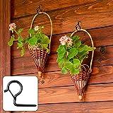 Q Gancho de gancho de rosca de cadena de luz montado en la pared de seguridad para el hogar gancho de la lámpara (tamaño: 20 piezas)