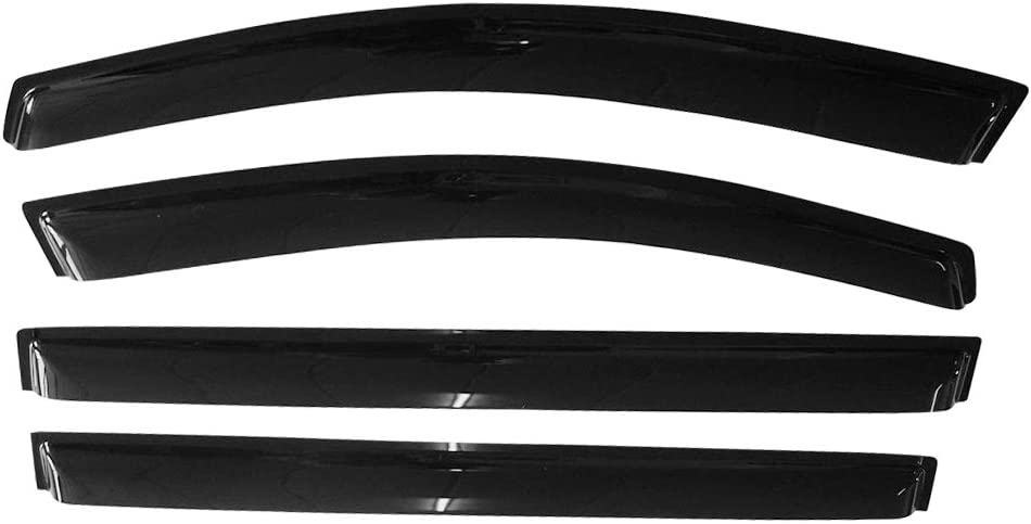Window Visor Compatible Beauty products With 2011-2020 Slim half Sienna Toyota Style