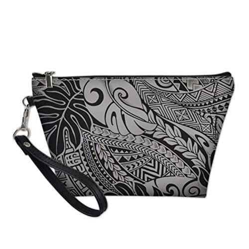 Aulaygo, borsa da viaggio per cosmetici da donna, multifunzione, stile tropicale, polinesiano, Tropical Free Style 05, Taglia unica,