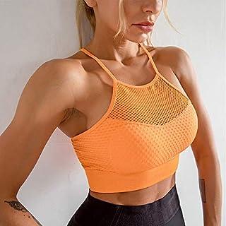Women Bra Fitness Seamless Push Up Sports Running Hollow Out Yoga Tank Tops Breathable Gym Underwear Sport Bra Female zhen...