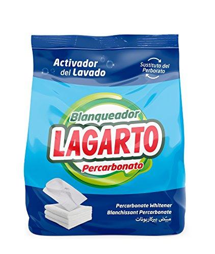 Lagarto Blanqueador Percarbonato - Paquete de 10 x 700 gr - Total: 7000 gr