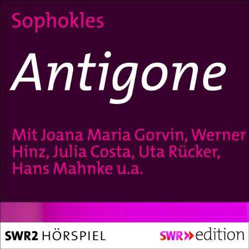 Antigone audiobook cover art