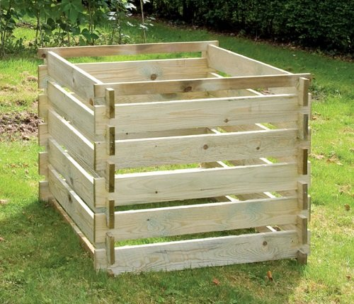 Lacewing Composteur en Bois Taille Moyenne - 605 litres