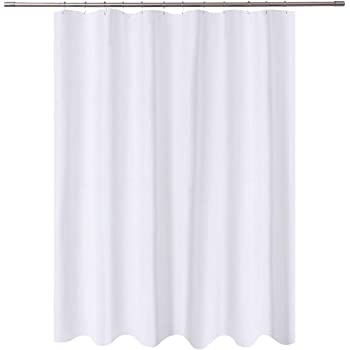 Amazon.com: N&Y HOME Long Fabric Shower Curtain Liner 72 x 78