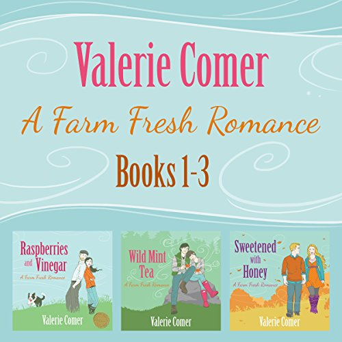 A Farm Fresh Romance Series 1-3 (A Farm Fresh Romance Box Set)                   By:                                                                                                                                 Valerie Comer                               Narrated by:                                                                                                                                 Becky Doughty                      Length: 25 hrs and 5 mins     58 ratings     Overall 4.5