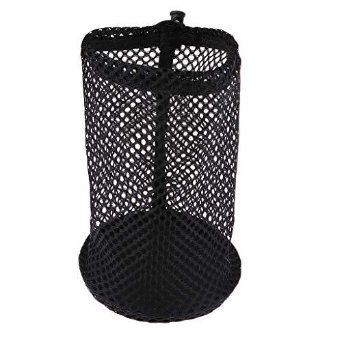 P Prettyia 6.7x4.3inch/11x6.7inch/11.8x8.3inch Heavy Duty Dive Mesh Carry Bag Golf Table Tennis Balls Holder Carrier - 12 Balls
