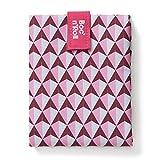 Roll'eat - Boc'n'Roll Tiles | Bolsa Merienda Porta Bocadillos, Envoltorio Reutilizable y Ecológico s...