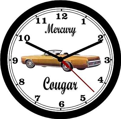 amazon 1965 chevrolet el camino wall clock free usa ship home 1963 Chevy Bel Air 1972 mercury cougar conv wall clock free usa ship