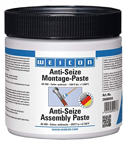 WEICON Anti-Seize Montagepaste 450g hitzebeständiger Schutz gegen Korrosion