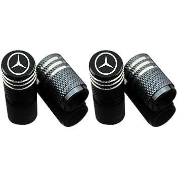per Mercedes Benz Set di 4 coprivalvole per pneumatici auto Azfdxgfc