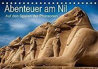 Abenteuer am Nil. Auf den Spuren der Pharaonen (Tischkalender 2022 DIN A5 quer): Impressionen von Tempelanlagen des alten Aegypten (Monatskalender, 14 Seiten )