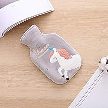 Breien Water Doek Set Rubber PVC Opladen Heet Waterfles Pluche Bag Warm Handtas (Kleur: C) Detazhi (Color : F)