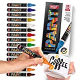 PaintMark Quick-Dry Paint Pens - Write On Anything! Rock, Wood, Glass, Ceramic