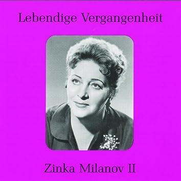 Lebendige Vergangenheit - Zinka Milanov (Vol.2)