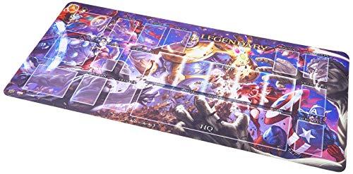 Legendary Upper Deck Playmat: Thanos vs The Avengers, Mehrfarbig