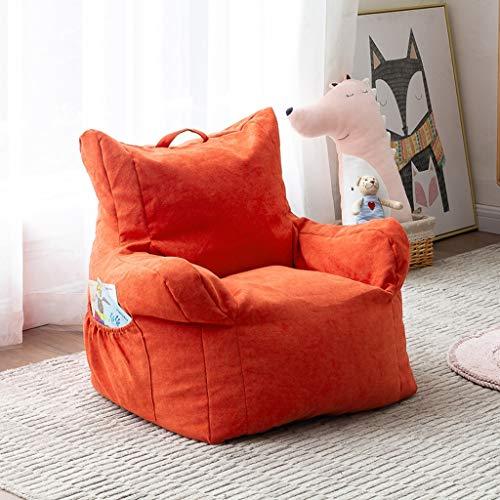 GZQDX Sala de Estar Sofás niños Puf Sofá-Cama cómodo de los niños de la Sala de Ocio Bolsa Lazy Sofá, Silla Tatami (Color : B)