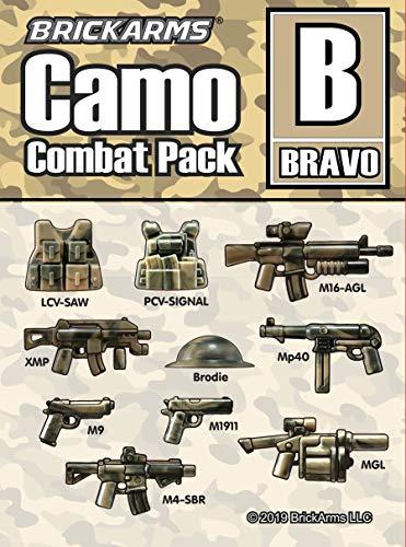 10 parti: LCV SAW - PCV-Signal Vest - M16-AGL - XMP - Brodie Helmet - MP40 - M9 Pistol - M1911 Pistol - M4-SBR - MGL Grenade Launcher Ogni pezzo ha un modello unico grazie allo speciale processo di stampaggio ad iniezione Compatibile con tutti i modu...