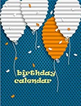 Birthday Calendar: birthday calendar! You can use this to record your friends' and family's birthdays, so you don't forget. Why not make them a birthday card when it's their birthday?
