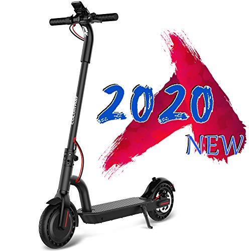MARKBOARD Scooter Elettrico Adulti, Scooter Pieghevole da 8,5 Pollici velocità Massima 20 km/h, Motore da 250 W, Pneumatico Antiscivolo e Schermo LCD, Impermeabile,...