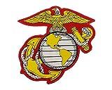 iron on company logo - US Marine Corps Embroidered Large Insignia Patch USMC Military Eagle Anchor Globe Logo Iron-On