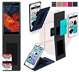 reboon Hülle für Meizu Pro 6 Plus Tasche Cover Case Bumper | Blau | Testsieger