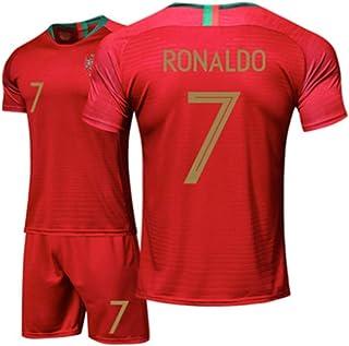 cfba98841e94ae Zhengbao Divisa da Calcio Estiva Casa del Portogallo Juventus Maglia  Ronaldo Camicia Fan Camicia E Pantaloncini