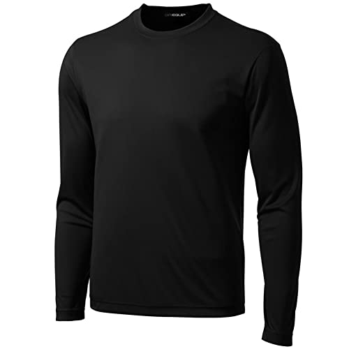 778e23a5 DRI-EQUIP Long Sleeve Moisture Wicking Athletic Shirts
