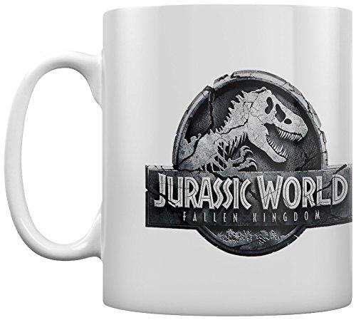 Unbekannt Jurassic World Fallen Kingdom Logo 11oz/315ml Kaffeetassen, Mehrfarbig MG24838