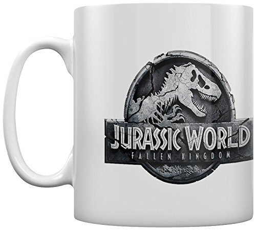 Jurassic World: Fallen Kingdom MG24838 Mug céramique Logo, 315ml/11oz
