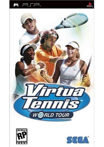 Virtua Tennis World Tour - PSP - US