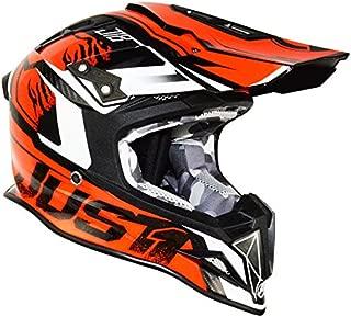 Just1 Dominator Adult J12 Off-Road Motorcycle Helmet - Orange/Large