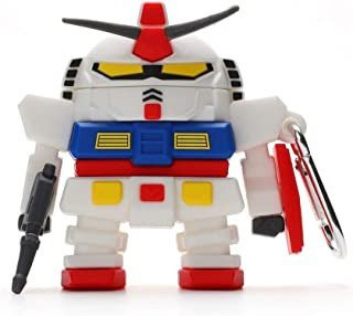 VARWANEO for Airpods 1 2 3 Case Cute Robot Gundam Earphone Case Anime for AirPods 3 Pro Wireless Bluetooth Headphone Soft ...