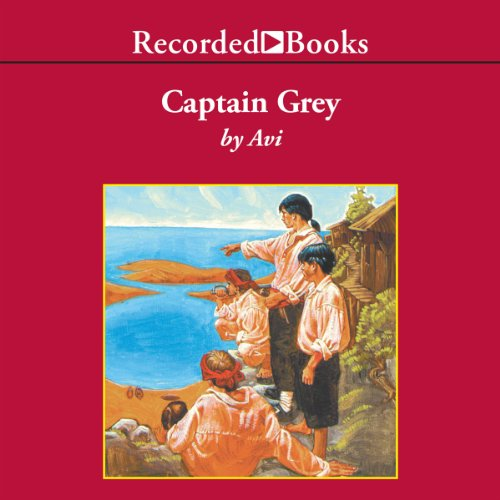 Captain Grey audiobook cover art